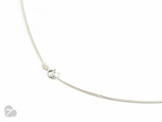 Pure Haselnuss Kette – Silber